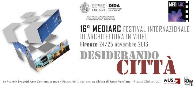 16° MEDIARC Festival internazionale di Architettura in video
