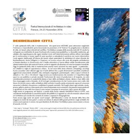 Desiderando città, presentazione festival di Cosimo Carlo Buccolieri (pdf consultabile)